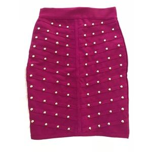 WOW Couture Studded Bandage Skirt!